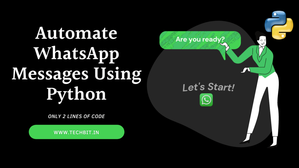 Automate WhatsApp messages using Python